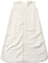 Halo Plush Dot Velboa SleepSack Wearable Blanket - Cream - Small