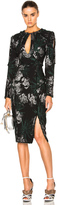 Erdem Hedy Jacquard Chrissy Dress