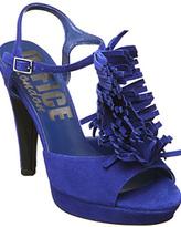 Porcupine Plat Blue Suede