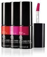 The Body Shop Lip & Cheek Stain 018 Dark Cherry - 7.2ml (Pack of 4)