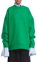 Marques Almeida Women's Marques'Almeida Knit Wool Blend Oversize Sweater