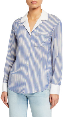 Rag & Bone Amelia Striped Pajama Shirt