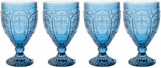 Fitz & Floyd Trestle Goblets, Set of 4