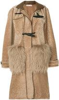 Marni shearling duffle coat