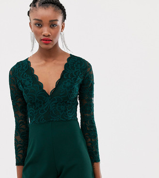 New Look playsuit in lace