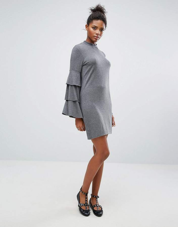 Only Frill Bell Sleeve Dress