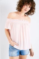 Jack Wills Duckett Stripe Off Shoulder Top