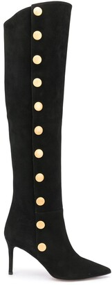 L'Autre Chose Knee-Length Mid Heel Boots