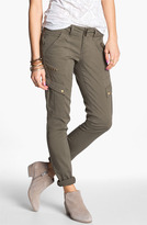 Jolt Studded Skinny Cargo Pants (Juniors) (Online Only)