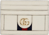 Gucci Off-White Ophidia Card Holder
