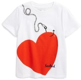 Burberry Girl's Love Hooked Graphic Tee