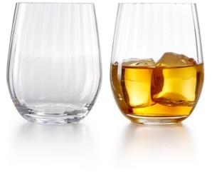 Riedel Optical O Whiskey Glasses, Set of 2