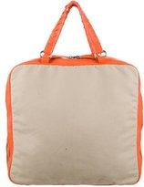 Malo Leather-Trimmed Canvas Weekender