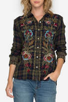 Johnny Was Marchella Plaid Shirt