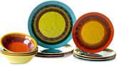 Certified International Sedona 12-Pc. Melamine Dinnerware Set