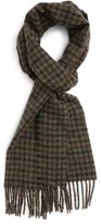 Barbour Men's Houghton Check Wool Scarf