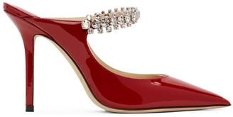 Jimmy Choo Red Patent Bing 100 Heels