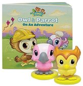 Leapfrog Learning Friends Owl & Parrot Figure Set with Board Book
