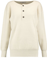 Pringle Henley Cashmere, Wool And Silk-Blend Sweater