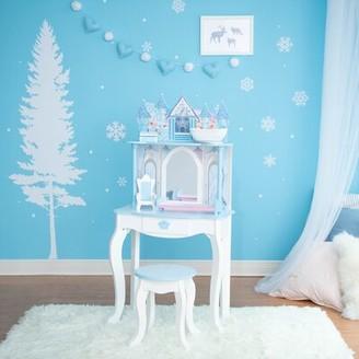Teamson Kids Dreamland Vanity Set with Mirror