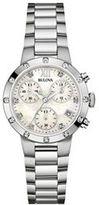 Bulova Women's Diamond Stainless Steel Chronograph Watch - 96R202