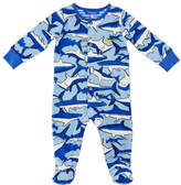 Joules Ziggy Shark & Diver Footie Pajamas, Size 0-12 Months
