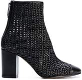 Golden Goose Deluxe Brand woven ankle boots