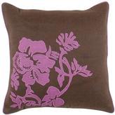Artistic Weavers FloraC 18 in. x 18 in. Decorative Pillow