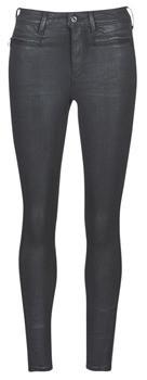 G Star ASHTIX ZIP HIGH SUPER SKINNY ANKLE WMN women's Skinny jeans in Black