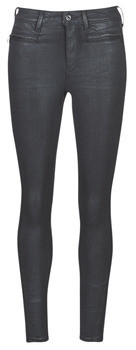 G Star Raw ASHTIX ZIP HIGH SUPER SKINNY ANKLE WMN women's Skinny jeans in Black