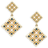 House Of Harlow Lyra Stone-Accented Drop Earrings