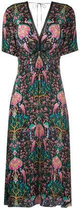 Ivena lace-embellished dress