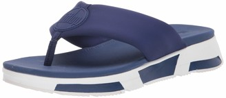 FitFlop Women's Sporty Logo Toe-Thongs Flip-Flop
