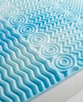 "CLOSEOUT! Authentic Comfort 5-Zone 2"" Twin XL Foam Mattress Topper"