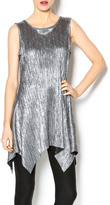 Joseph Ribkoff Metallic Textured Tunic