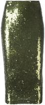 P.A.R.O.S.H. 'Gausha' skirt - women - Polyamide/Spandex/Elastane/PVC/Sequin - XS