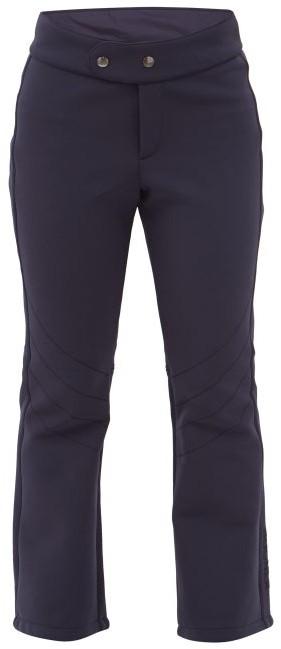 Bogner Emilia Flared Soft-shell Ski Trousers - Navy