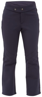 Bogner Emilia Flared Soft-shell Ski Trousers - Navy