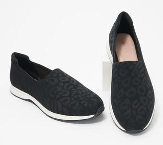 Taryn Rose Leopard_Print Slip On Shoes - Briella