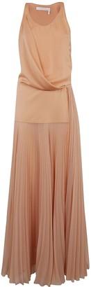 Chloé Sleeveless Pleated Long Dress