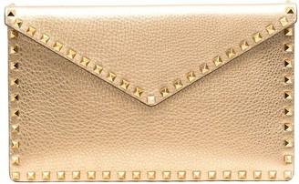 Valentino Stud-Embellished Clutch Bag
