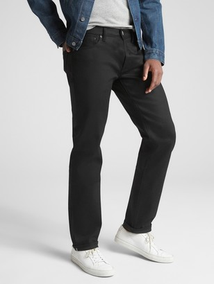 Gap Selvedge Straight Jeans with GapFlex