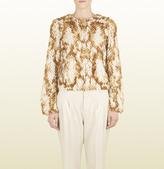 Gucci Natural Mink Fur Jacket