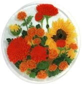 "Peggy Karr Glass Autumn Garden 8"""