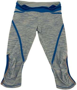 Lululemon Multicolour Polyester Trousers