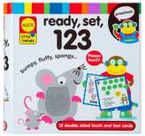 Alex Little Hands Ready, Set, Touch and Feel Flash Cards, 123