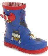 Joules 'Baby Welly' Waterproof Monkey Boot (Walker & Toddler)