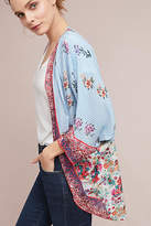 Anthropologie Alma Floral Kimono