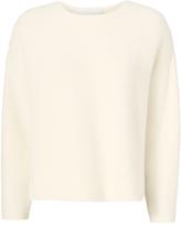 Mason Michelle Oversized Cropped Sweater Ivory P