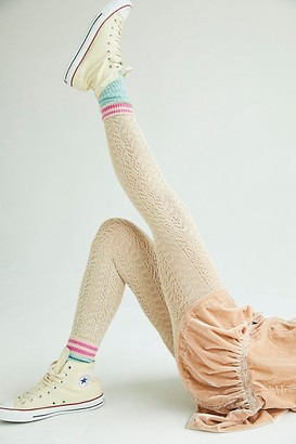Free People Fairy Tale Pointelle Sweater Tights